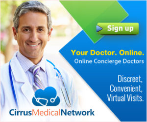 CirrusMED Your Doctor. Onlinle. Discreet, convenient, virtual visits